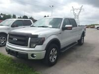 2013 Ford F-150 FX4 Crew 5.0 V8 Leather Navi One Owner Mint