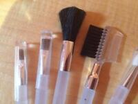 Cosmetic Brush Sets (5 pce)  NEW QTY 150