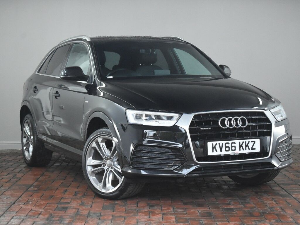 audi q3 2 0 tdi quattro s line plus sat nav 19 alloys. Black Bedroom Furniture Sets. Home Design Ideas