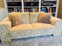 Beautiful 2 seater Hand made Sofa