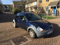 2005 FORD KA WITH MOT *COULD DO WITH NEW BREAK PADS*