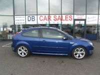 2005 55 FORD FOCUS 2.5 ST-2 3D 225 BHP **** GUARANTEED FINANCE **** PART EX WELCOME **