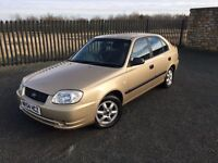 2004 54 HYUNDAI ACCENT 1.6 GSI 5 DOOR HATCHBACK - DECEMBER 2017 M.O.T