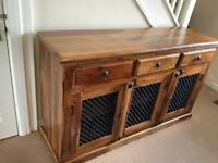 Indian sheesham solid wood cabinet sideboard furniture