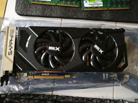 Graphics cards 5 of plus other bits and bobs