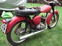 bsa bantam 175 good little project for the enthusiast