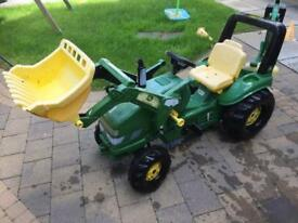John Dere Play Tractor