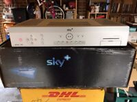 Three boxed Sky Digital receivers Sony, Panasonic and Pace JOB LOT £20