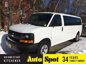 2014 Chevrolet Express LOW, LOW KMS/12 PASSENGER/PRICED FOR A QU