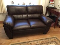 For sale 2 seater faux leather settee