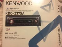 Kenwood car CD player