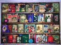 The Christmas Library Jigsaw Puzzle