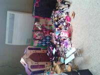 Monster High school dolls and accesories(over 300$ worth)