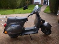 VESPA (DOUGLAS) T5 SCOOTER - EXCELLENT ORIGINAL CONDITION WITH FULL SERVICE HISTORY