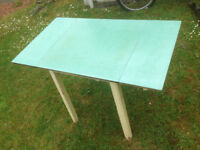 Vintage Formica mid century kitchen table £5
