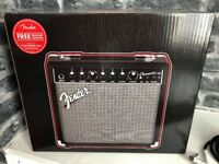 Brand New Fender 20w Amp and Fender Cable