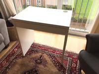"""Desk - Ikea """"Micke"""", white"""