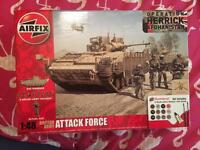 Airfix British army attack force
