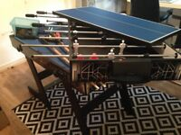 4 in 1 Hy-Pro Table - 4 classic games - pool, table tennis, table football and puck hockey.