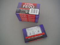 Audio tapes / cassettes: BLANK, unused. TDK FE90. 50p each