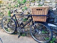 Vintage Raleigh butchers tradesman bike