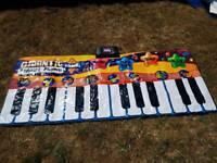 Musical piano pad.