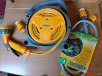 Hozelock hose reel plus free connection set