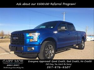 2016 Ford F-150 XLT Sport Package FX4 4x4 Crew Cab