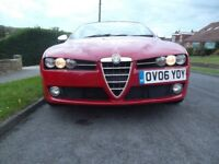 Alfa Romeo 159. Beautiful car and well maintained. New MOT to Nov 2018. Lusso (top of the range)