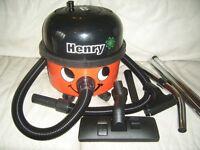 NUMATIC HENRY HOOVER VACUUM CLEANER 1100 WATT PLUS BRAND NEW HOSE & PIPES & FLOOR HEAD