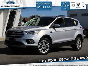 2017 Ford Escape SE**AWD*GPS*CAMERA*BLUETOOTH*A/C**