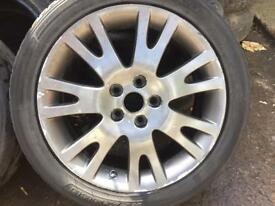 """Renault Laguna 17"""" alloy wheels x4 in good / used condition"""