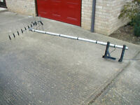 Wide band High Gain Digital Television Aerial, 8' ali pole and TK bracket