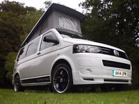 VW Transporter T28 Camper, 4 Berth, Elevating Roof, Side Kitchen, Storage