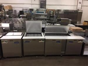 TRUE & TRAULSEN REFRIGERATION BLOW-OUT - SANDWICH AND PIZZA TABLES - STOREY'S RESTAURANT EQUIPMENT - LONDON'S LARGEST
