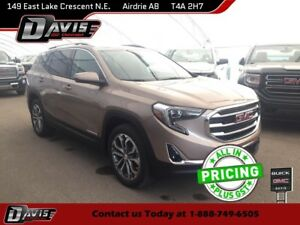 2018 GMC Terrain SLT 2-PANEL SUNROOF, HTD/LTHR SEATS, USB PORT