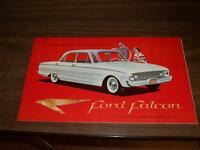 BROCHURE AUTO FORD FALCON ( 1960 )