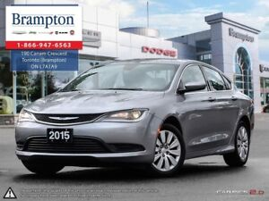 2015 Chrysler 200 LX | TRADE-IN | SOLAR CONTROL GLASS |FLEX FUEL