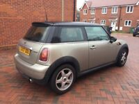 Mini Cooper 57 plate 77,000 Miles Excellent condition.