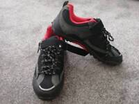 LADIES CYCLING SHOES (size 40) SHIMANO CLEATS included