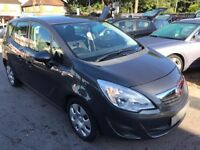 2011/00 VAUXHALL MERIVA 1.7 CDTI 16V S 5DR GREY,LOW MILEAGE GREAT ECONOMY,GOOD SPEC,DRIVES WELL
