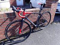 Norco Search Adventurer bike, 55 inch carbon fibre frame .