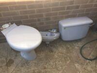 Grey Toilet suite