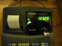 CASH REGISTER SHARP ELECTRONIC XE-A102