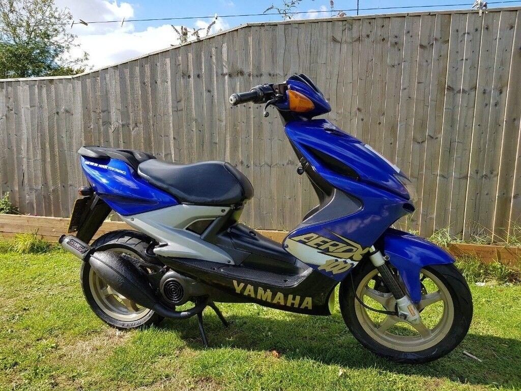 yamaha aerox 100 cc scooter moped