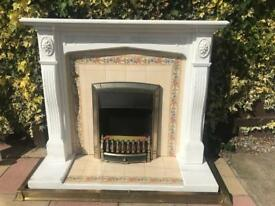 Complete Fire Surround with working Electric coal effect fire