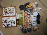 Small lot of fishing tackle