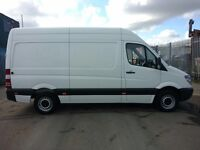 MERCEDES SPRINTER MWB ON 63 PLATE, LOW MILEAGE AND ONE ONWER FROM NEW