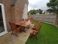 Alexander Rose Patio Table and Five Chairs