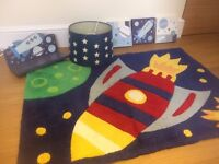 Space rug and accessories